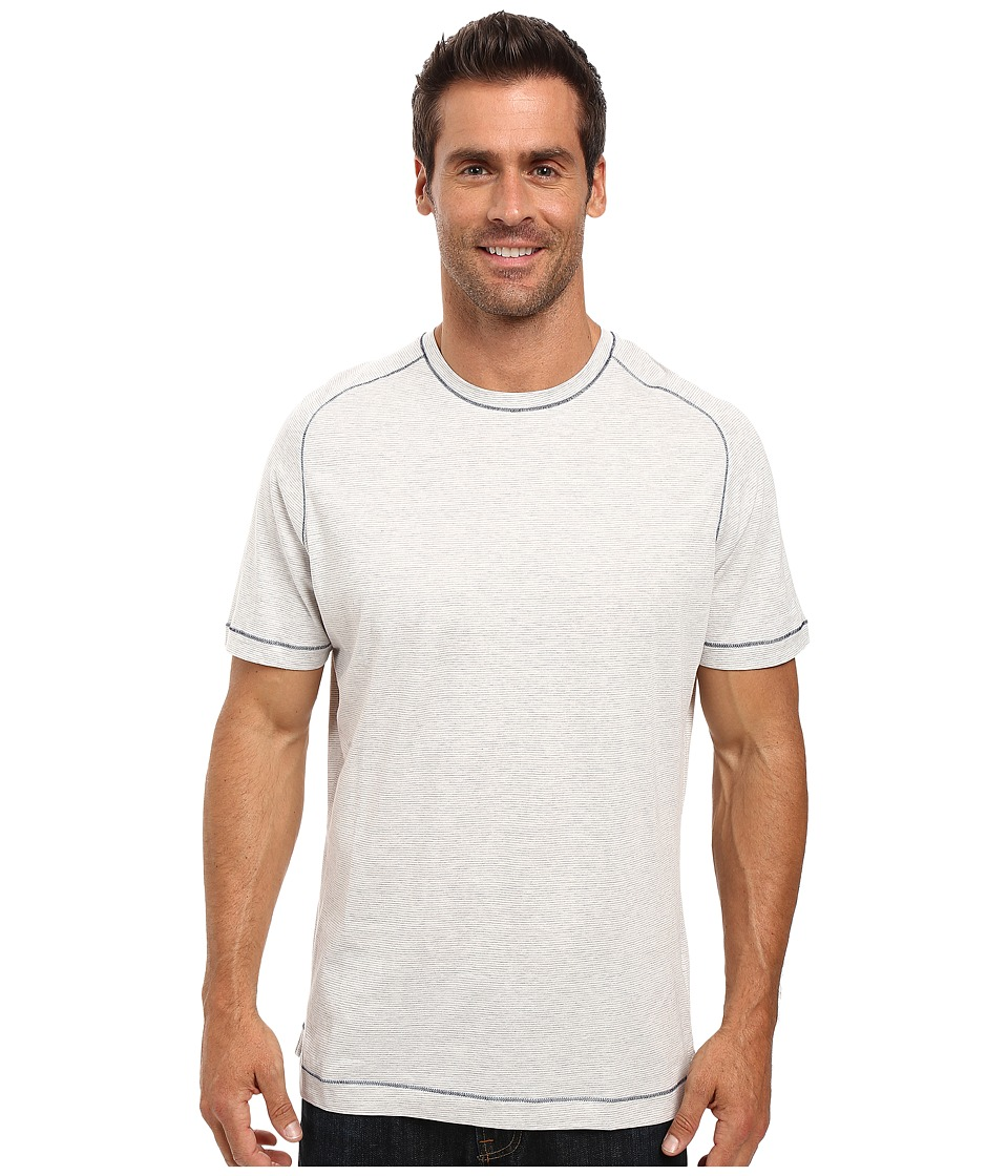 Robert Graham - Flagstaff Short Sleeve Knit T-Shirt (Heather Grey) Men's T Shirt