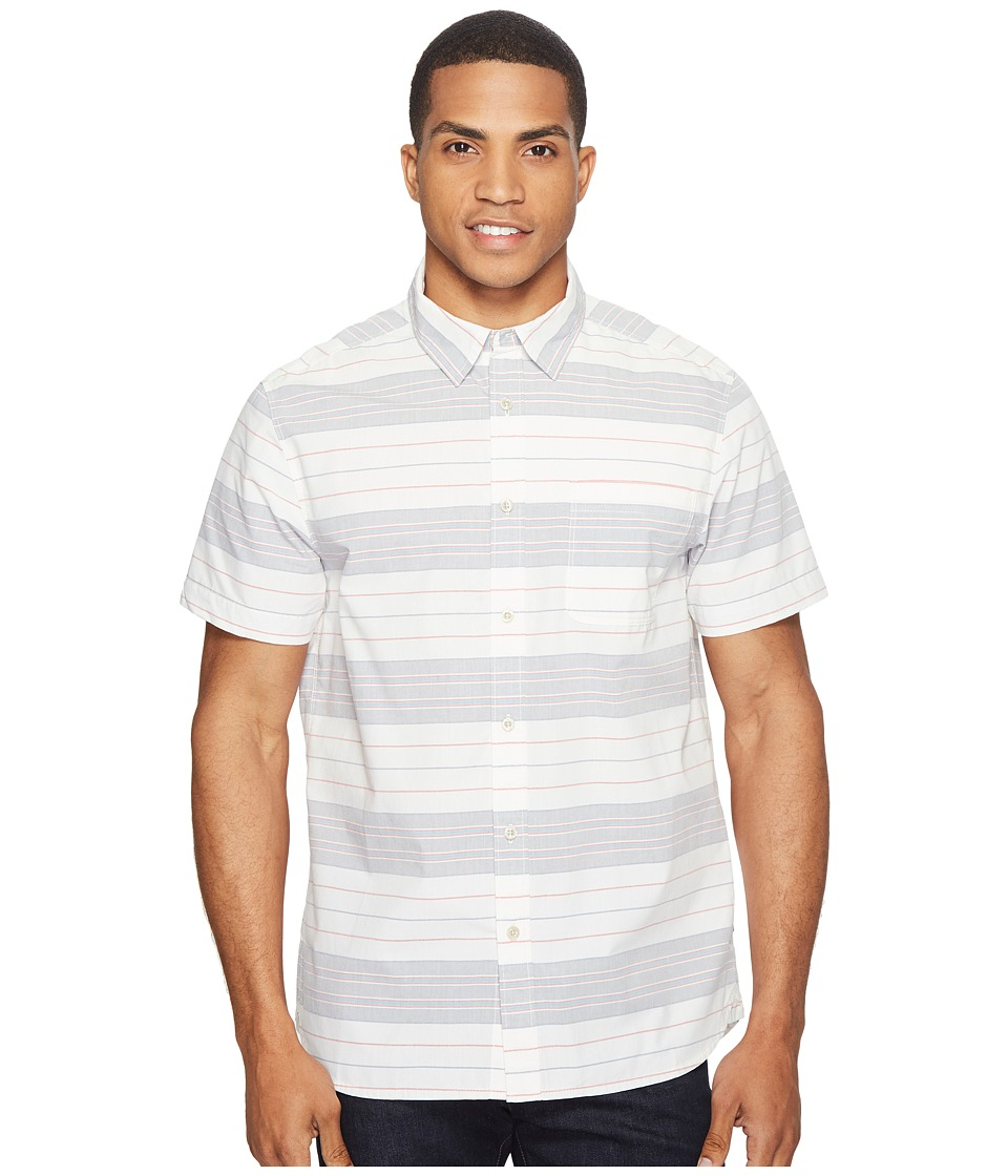 The North Face - Chambray Pursuit Shirt (Vintage White Stripe (Prior Season)) Men's Short Sleeve Button Up