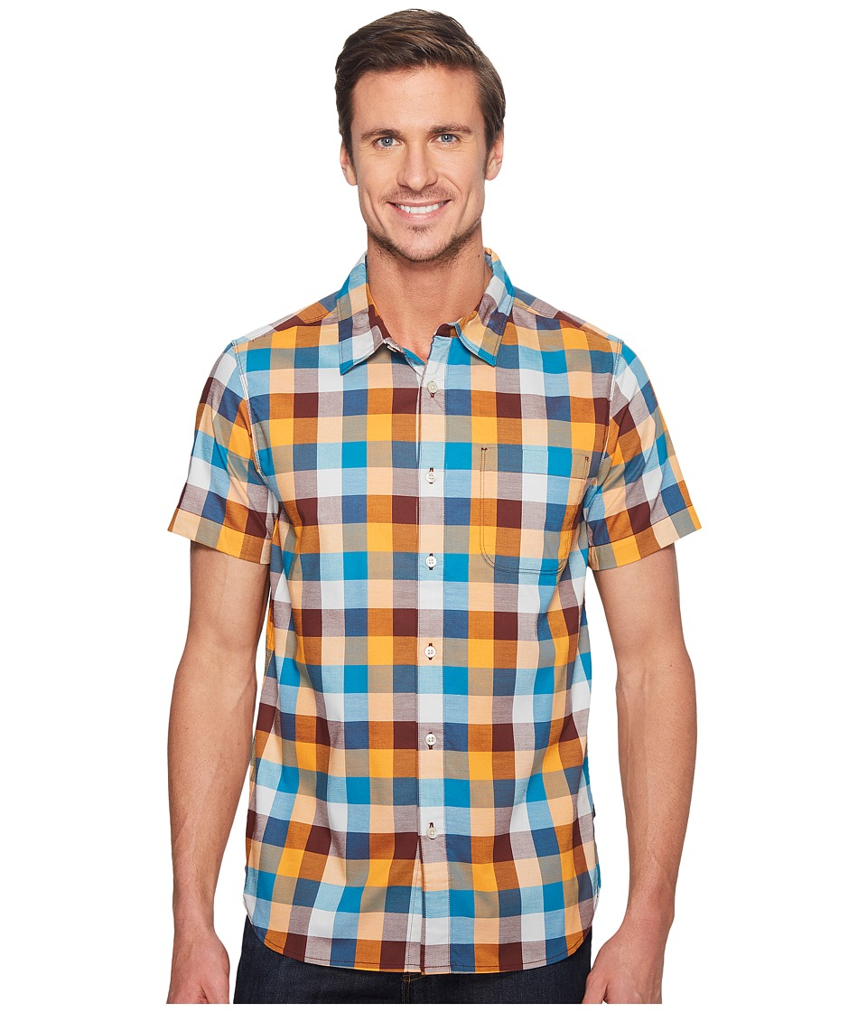 The North Face - Short Sleeve Road Trip Shirt (Sequoia Red Plaid (Prior Season)) Men's Short Sleeve Button Up