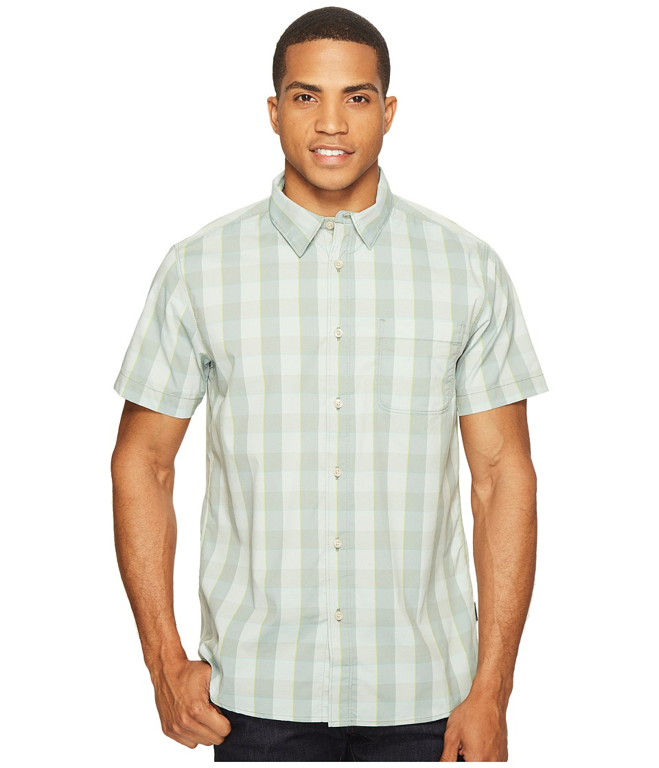 The North Face Short Sleeve Voyager Shirt (Laurel Wreath Green Plaid (Prior Season)) Men
