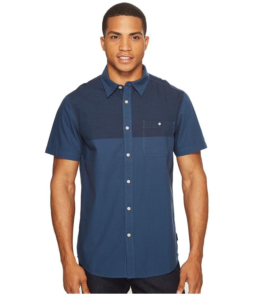 The North Face Short Sleeve Block Me Shirt (Urban Navy (Prior Season)) Men