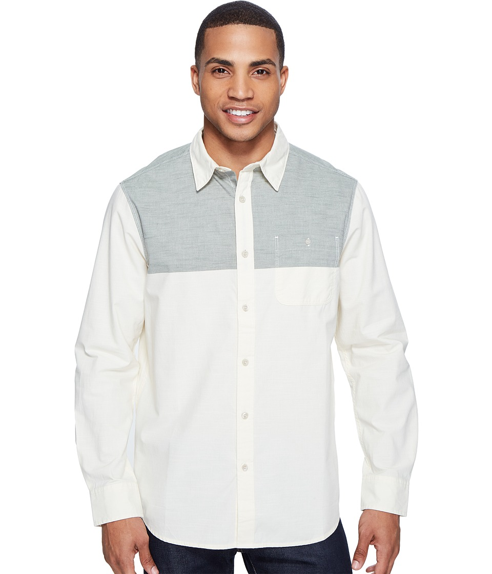 The North Face - Long Sleeve Block Me Shirt (Thyme (Prior Season)) Men's Long Sleeve Button Up