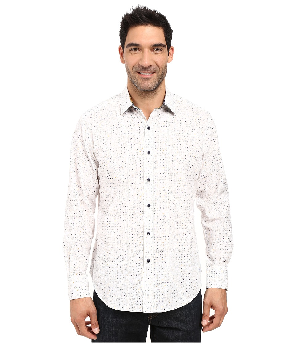 Robert Graham - Kallahari Long Sleeve Woven Shirt (White) Men's Clothing