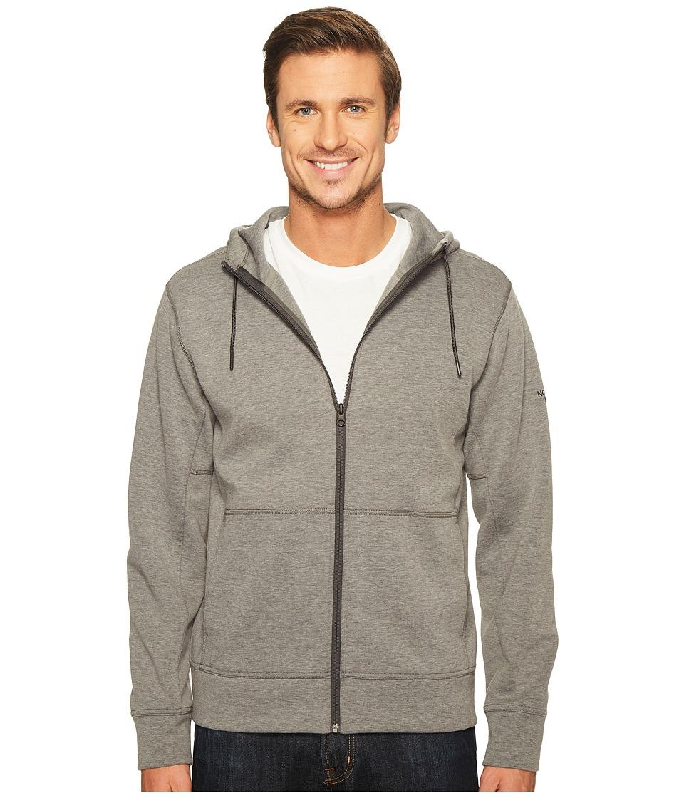 The North Face - Slacker Full Zip Hoodie (TNF Medium Grey Heather (Prior Season)) Men's Sweatshirt