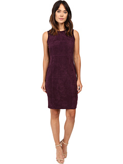 Sweater Dress W/ Suede Front by Calvin Klein