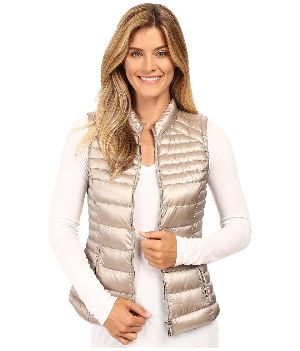 Calvin Klein - Metallic Puffer Vest (Shine Thistle) Women's Vest