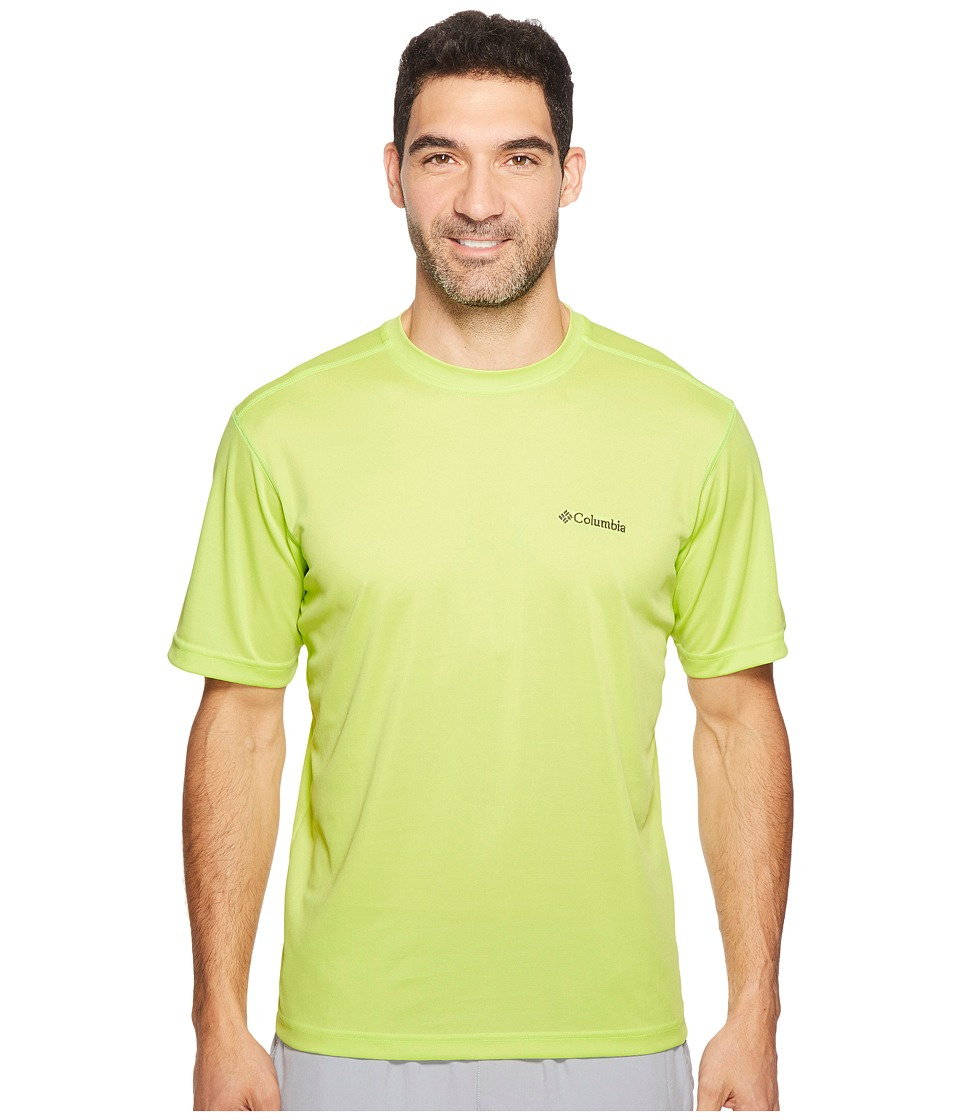 Columbia - Meeker Peak Short Sleeve Crew (Voltage) Men's Short Sleeve Pullover