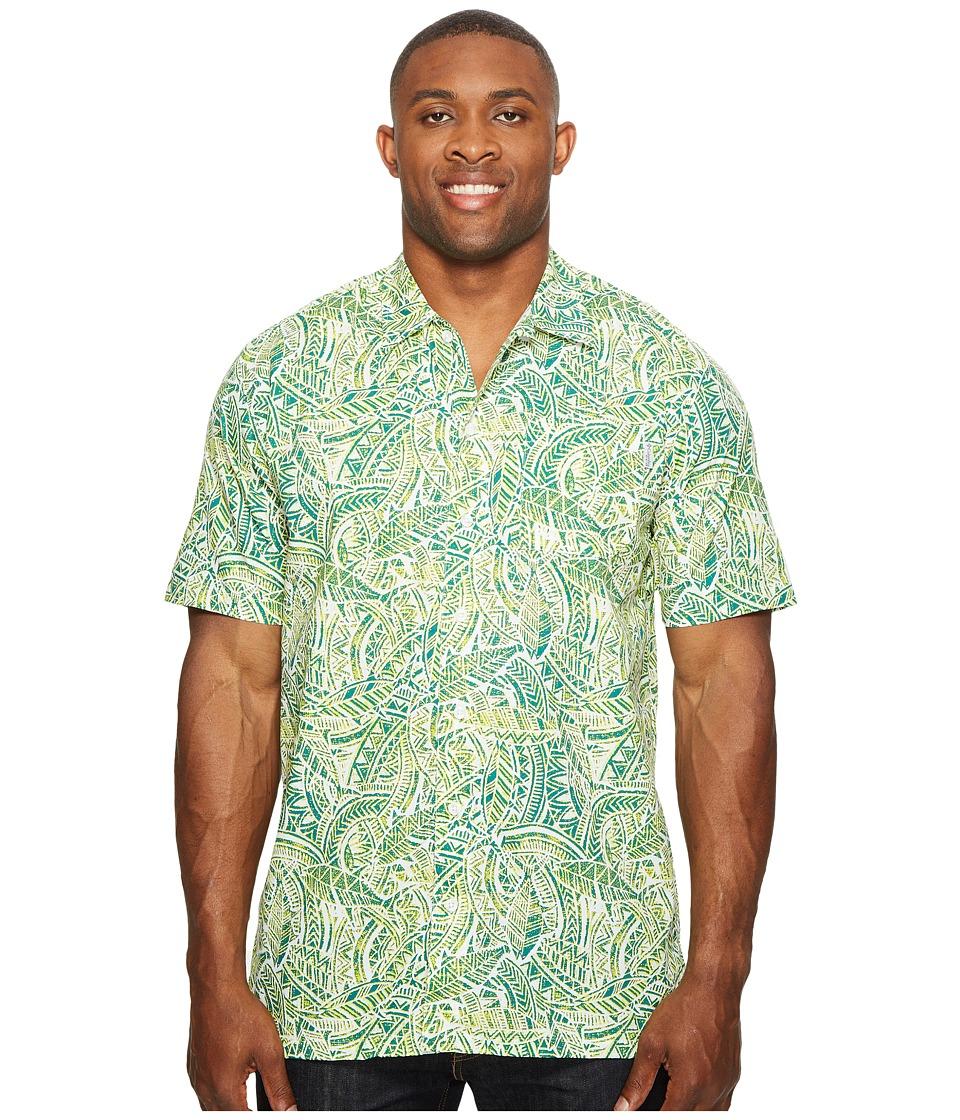 Columbia - Big Tall Trollers Best Short Sleeve Shirt (Tippet Tuna) Men's Short Sleeve Button Up