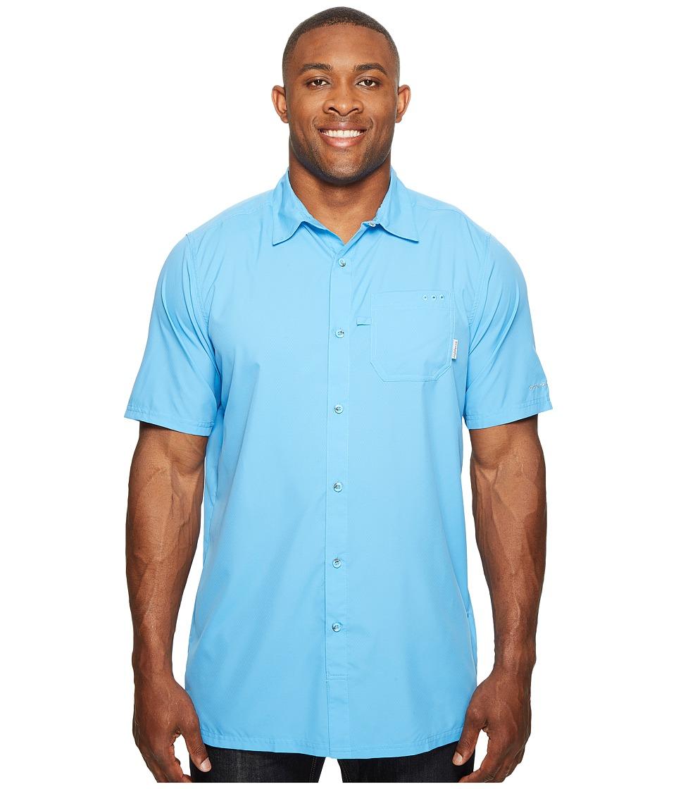 Columbia - Big Tall Slack Tide Camp Shirt (Yacht) Men's Short Sleeve Button Up