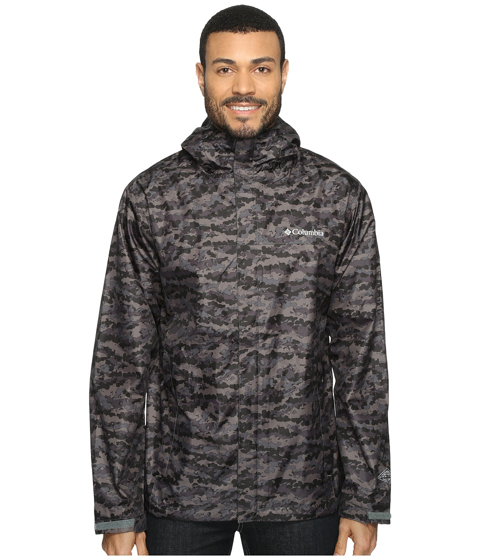 Columbia - Watertighttm Printed Jacket (Shark Camo) Men's Coat