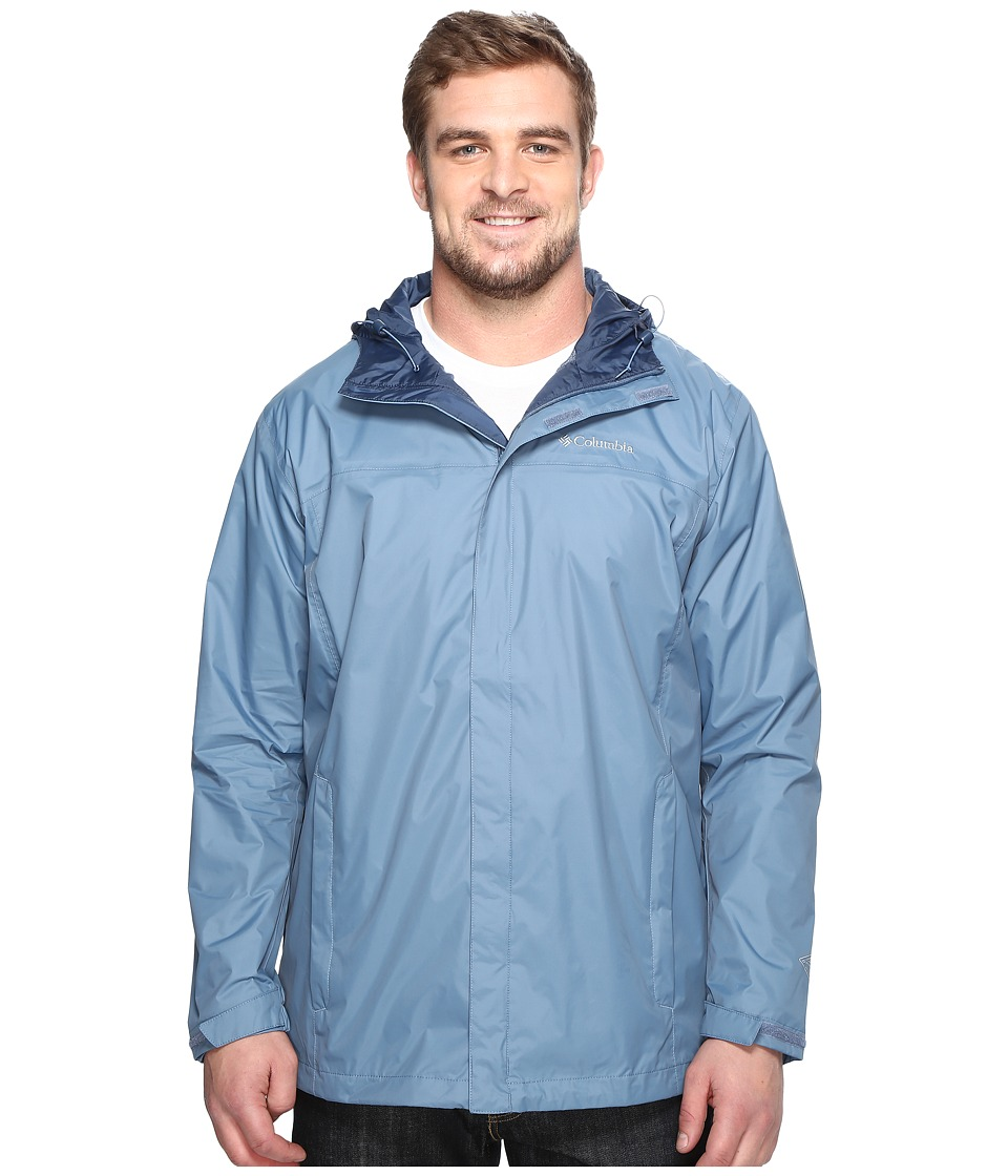 Columbia - Watertighttm II Jacket - Extended (Steel) Men's Coat