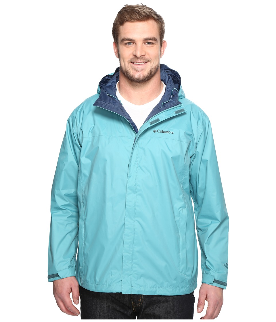 Columbia - Watertighttm II Jacket - Extended (Teal) Men's Coat
