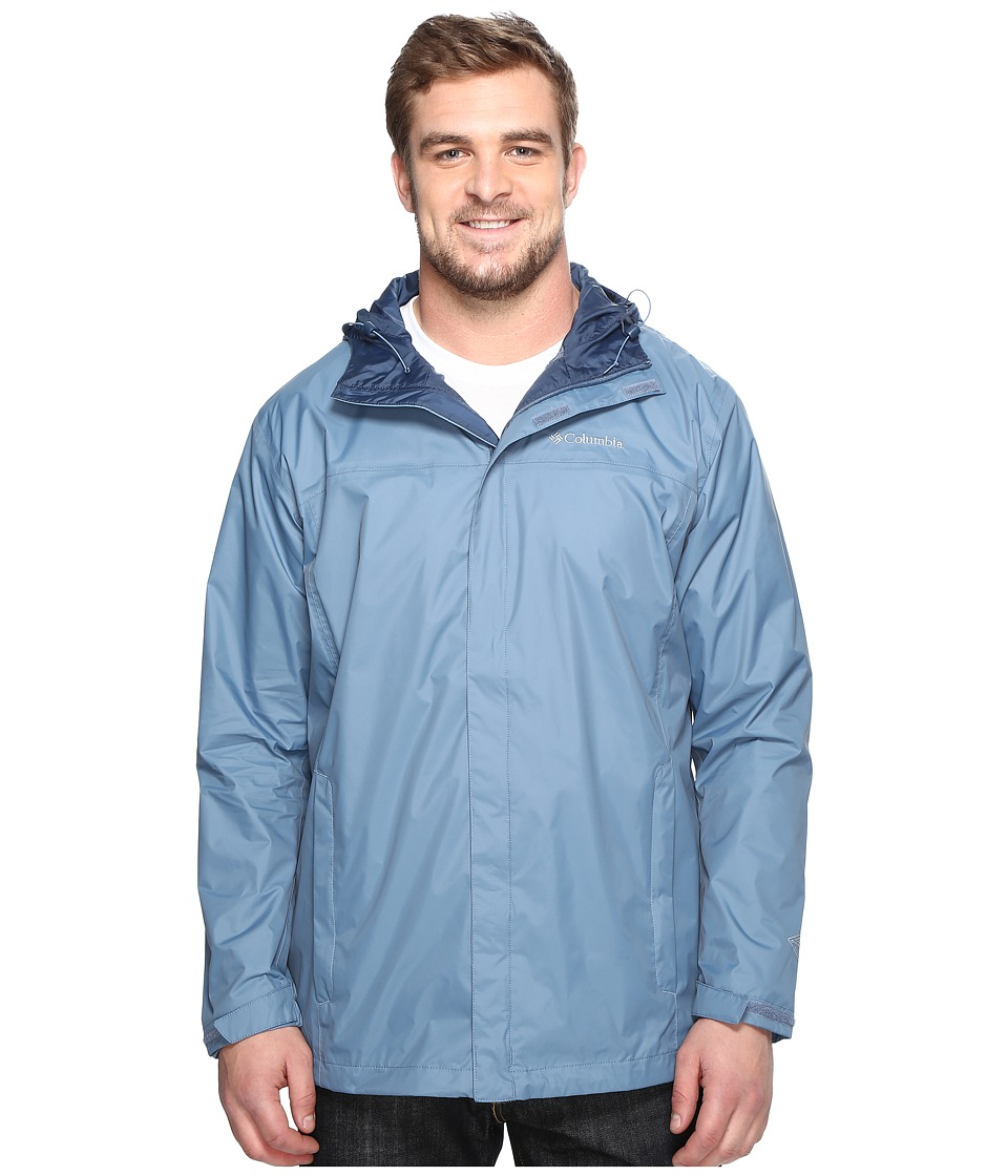Columbia - Watertighttm II Jacket - Tall (Steel) Men's Coat