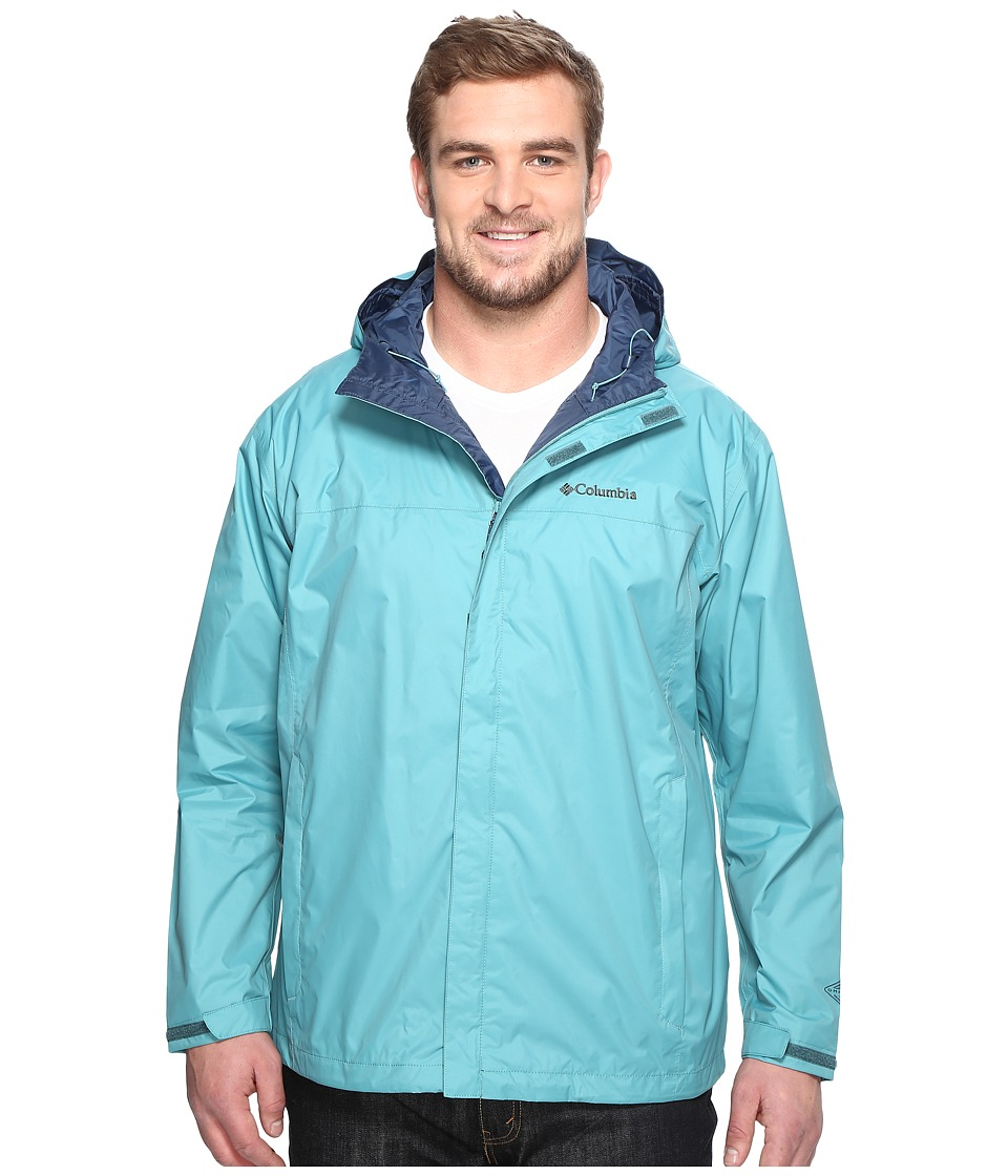Columbia - Watertighttm II Jacket - Tall (Teal) Men's Coat