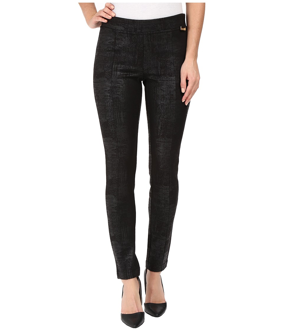 Calvin Klein - Spackled Compression Pants (Black) Women's Casual Pants