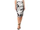 Calvin Klein Metallic Jacquard Skirt