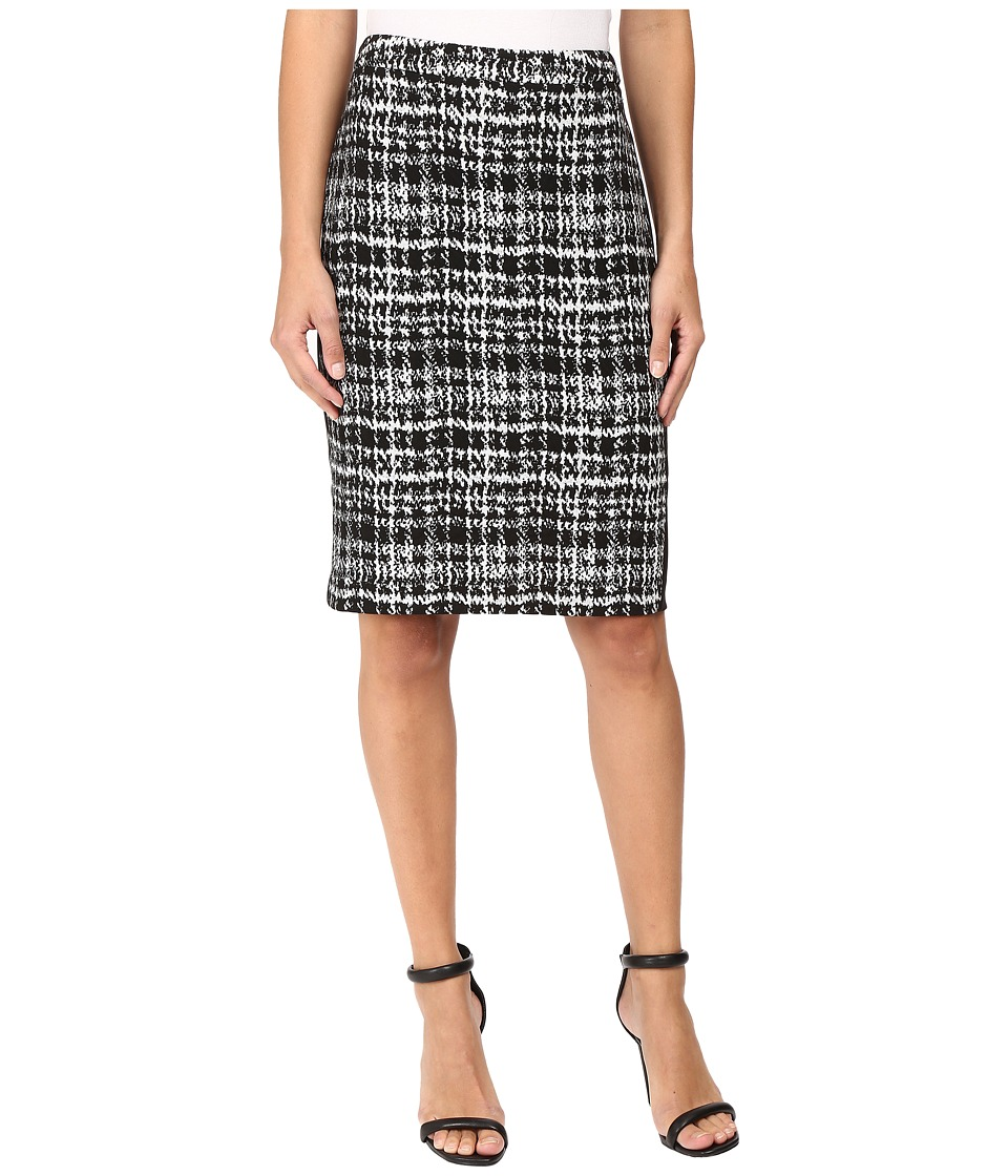 Calvin Klein - Jacquard Pencil Skirt (Black Multi 4) Women's Skirt