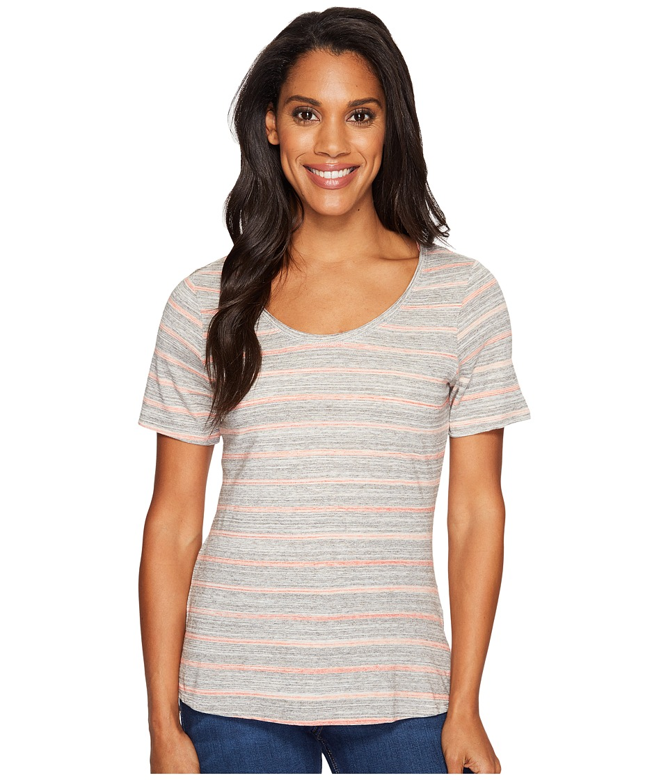 Columbia - Sunshine Springs Tee (Lychee Stripe) Women's T Shirt