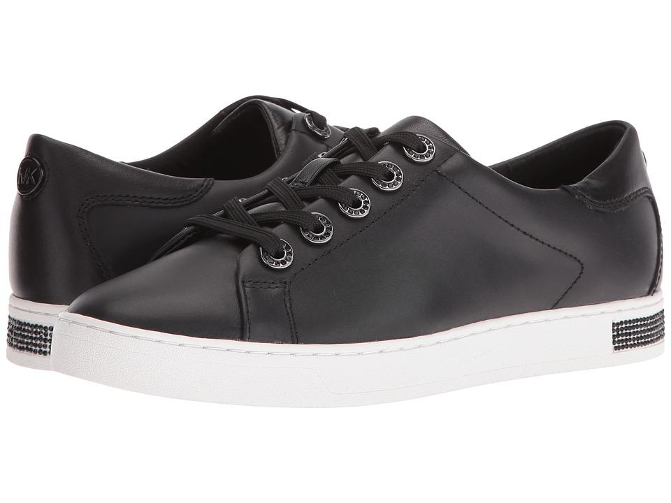 MICHAEL Michael Kors Halle Sneaker (Black Vachetta/Nappa) Women