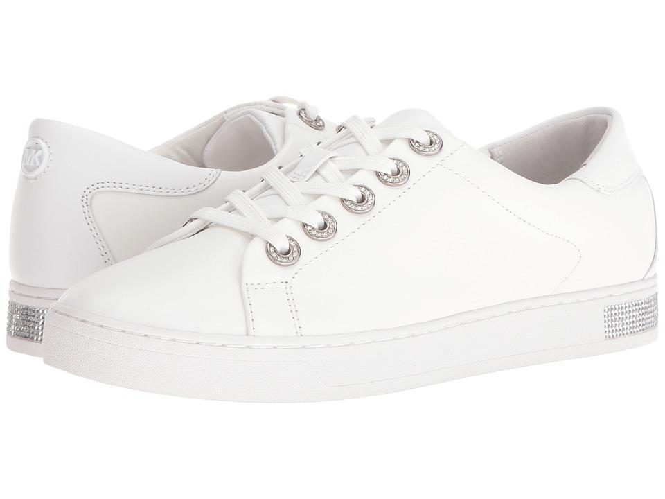 MICHAEL Michael Kors Halle Sneaker (Optic White Vachetta/Nappa) Women