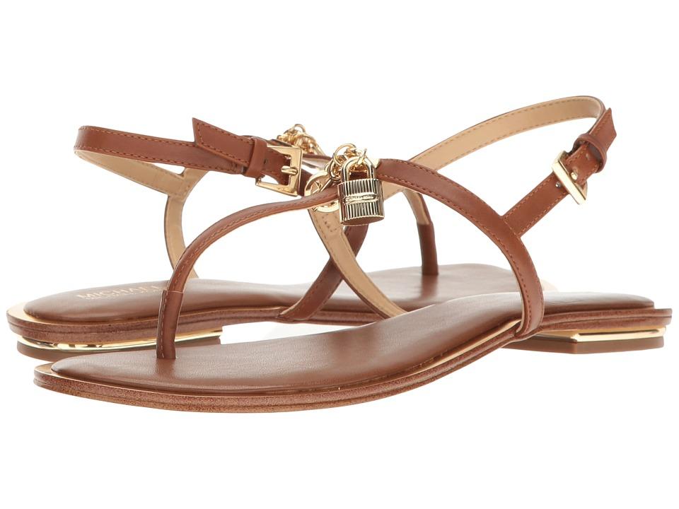 MICHAEL Michael Kors - Suki Thong (Luggage Smooth Calf) Women's Sandals