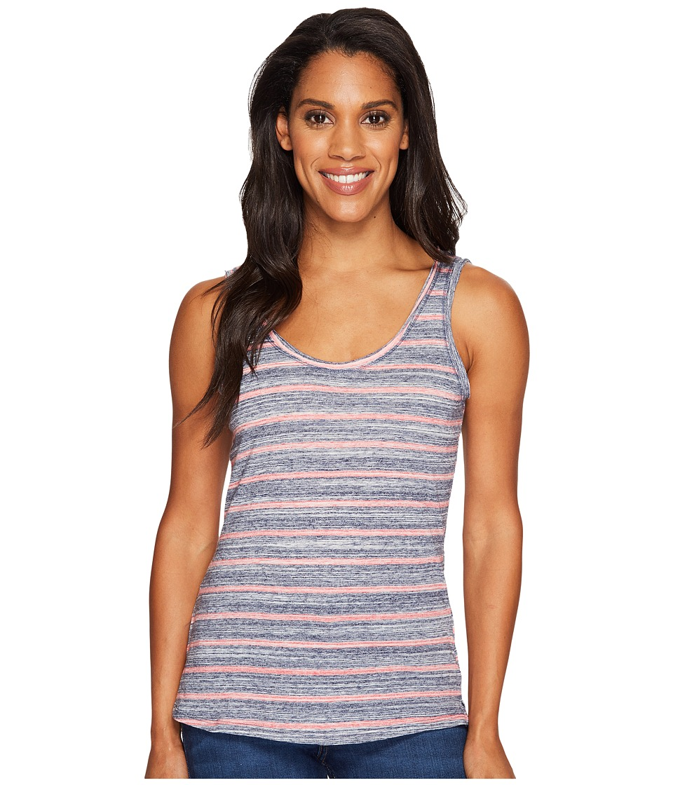 Columbia - Sunshine Springs Tank Top (Sunset Red Stripe) Women's Sleeveless
