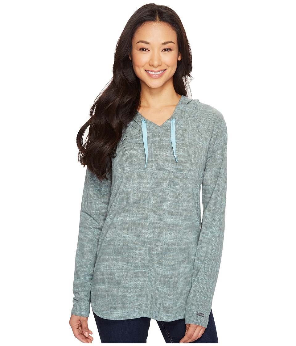 Columbia - State of Mind Hoodie (Pond Dotty Dye) Women's Sweatshirt