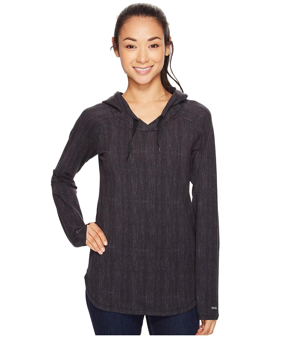 Columbia - State of Mind Hoodie (Black Dotty Dye) Women's Sweatshirt