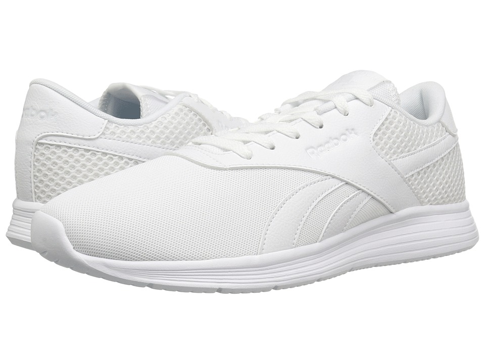 Reebok - Royal EC Ride (White/White) Men's Walking Shoes