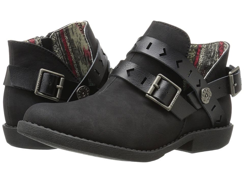 Blowfish - Anotole (Black Texas PU/Dyecut PU) Women's Boots
