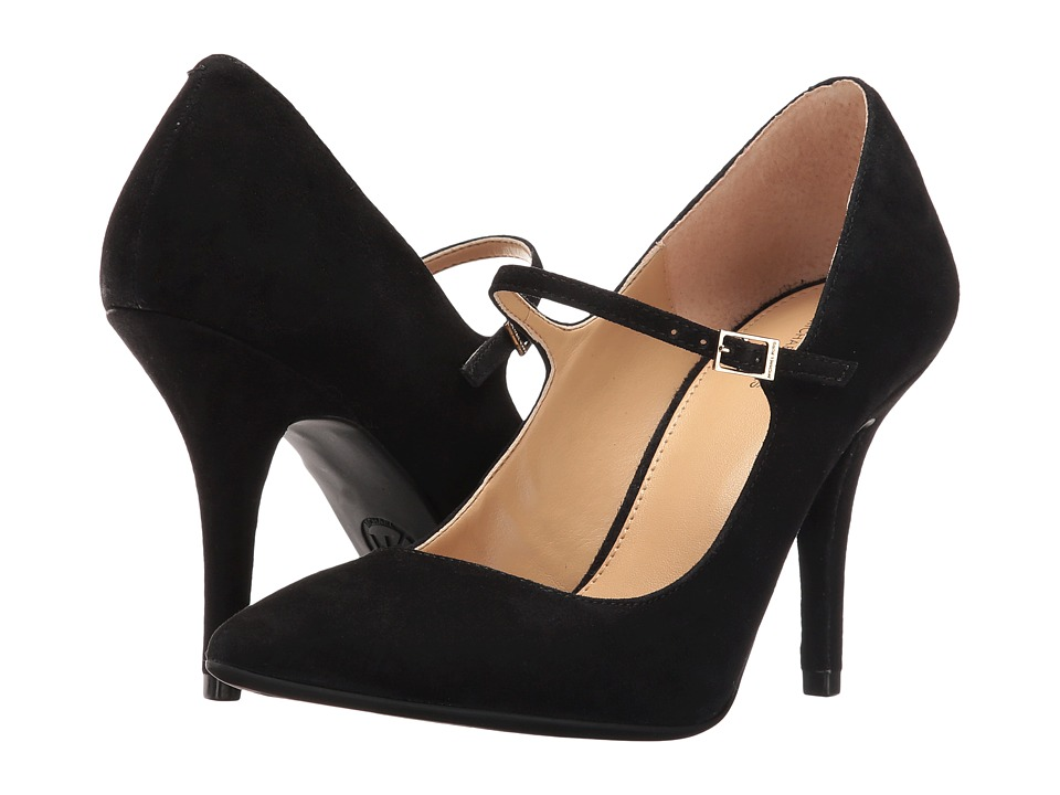 MICHAEL Michael Kors - Claire Flex Mary Jane (Black Kid Suede) Women's Maryjane Shoes