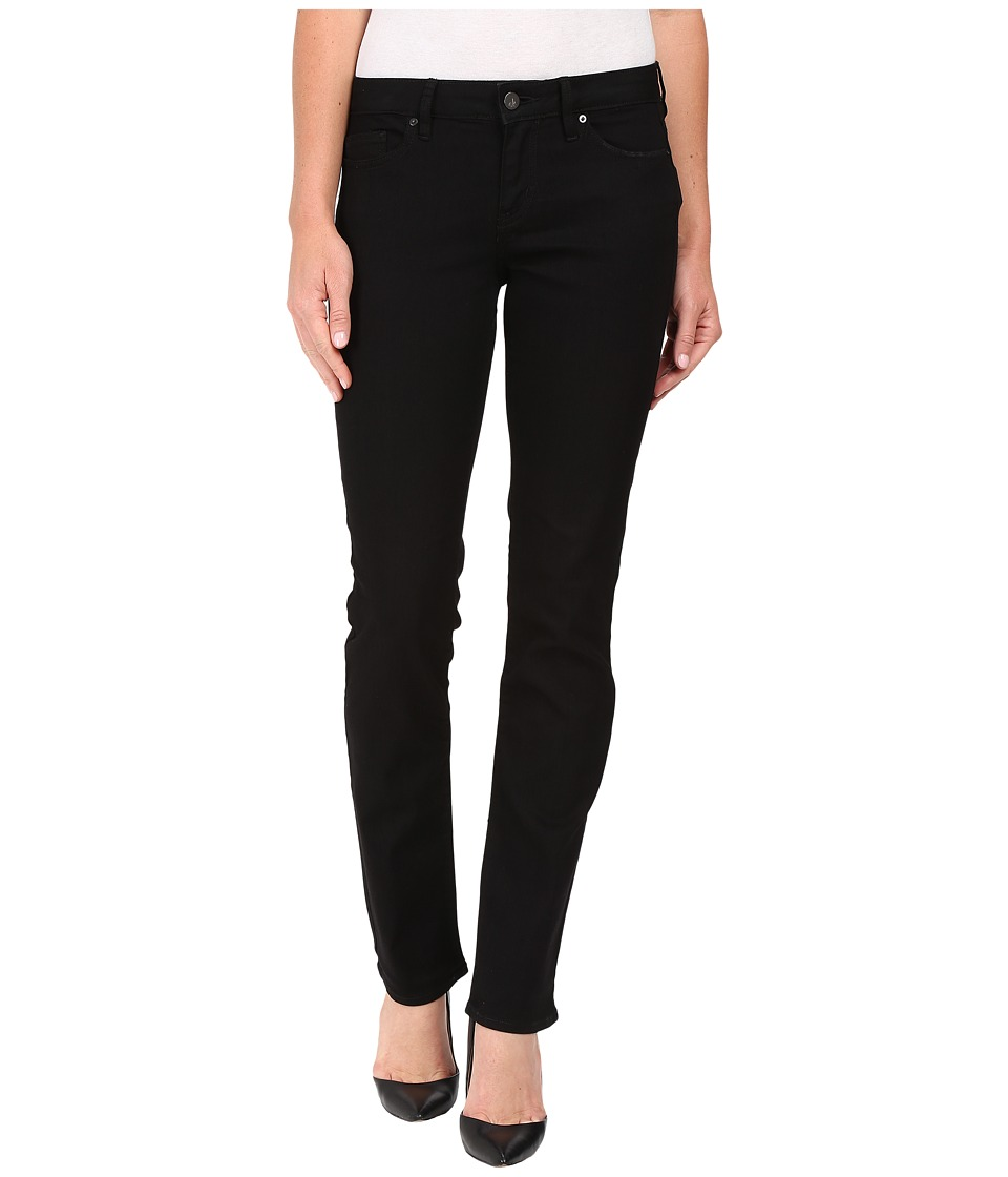 Calvin Klein Jeans - Straight Jeans in True Black (True Black) Women's Jeans