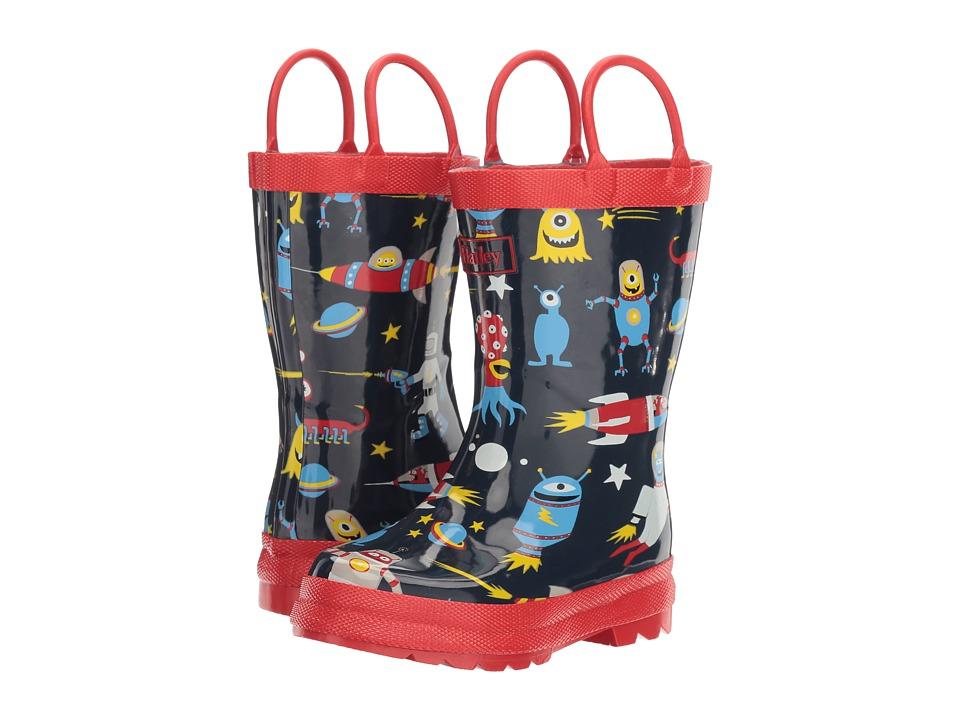 Hatley Kids - Space Aliens Rain Boots (Toddler/Little Kid) (Blue) Boys Shoes