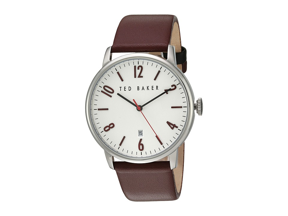 Ted Baker - Classic (Silver/Dark Red) Watches