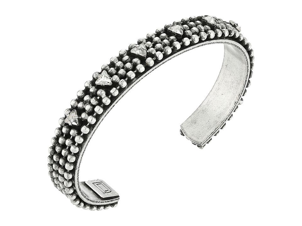 DANNIJO - NEIL Bracelet (Ox Silver/Clear) Bracelet