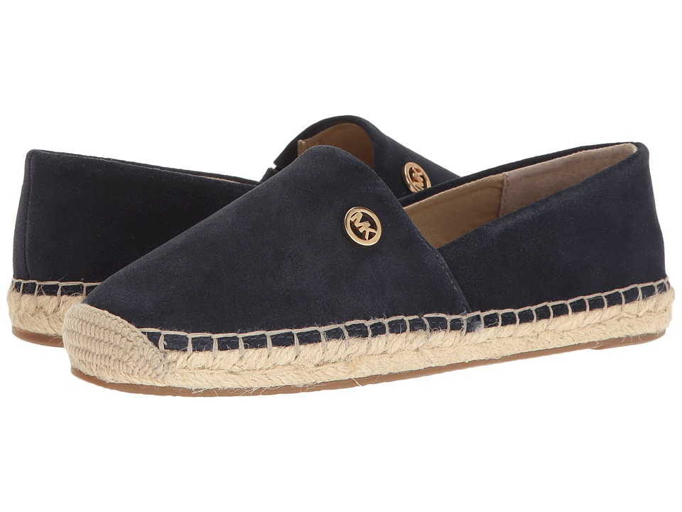 MICHAEL Michael Kors - Kendrick Slip-On (Admiral Sport Suede) Women's Slip on Shoes