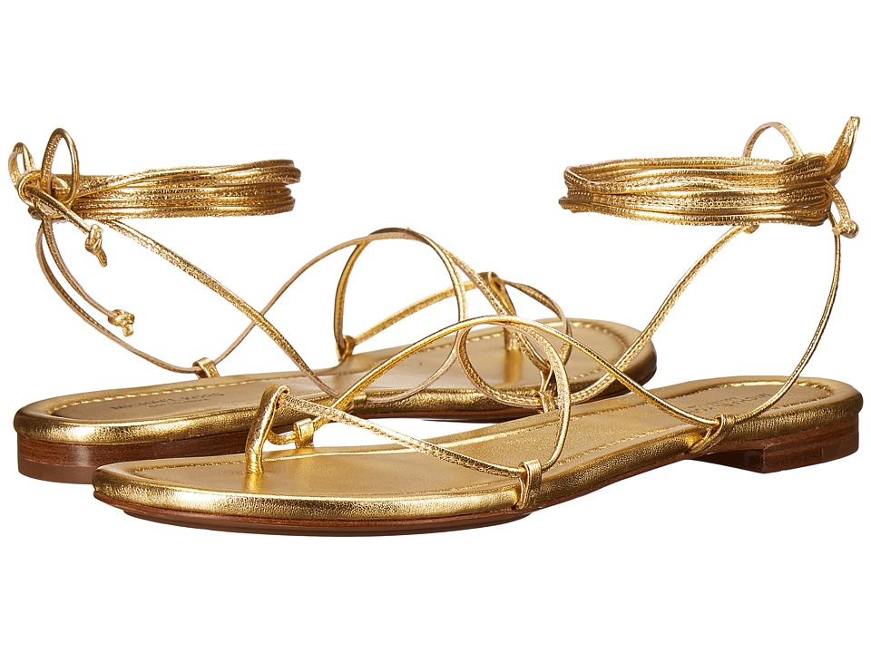 Michael Kors Bradshaw (Gold Metallic Nappa) Women
