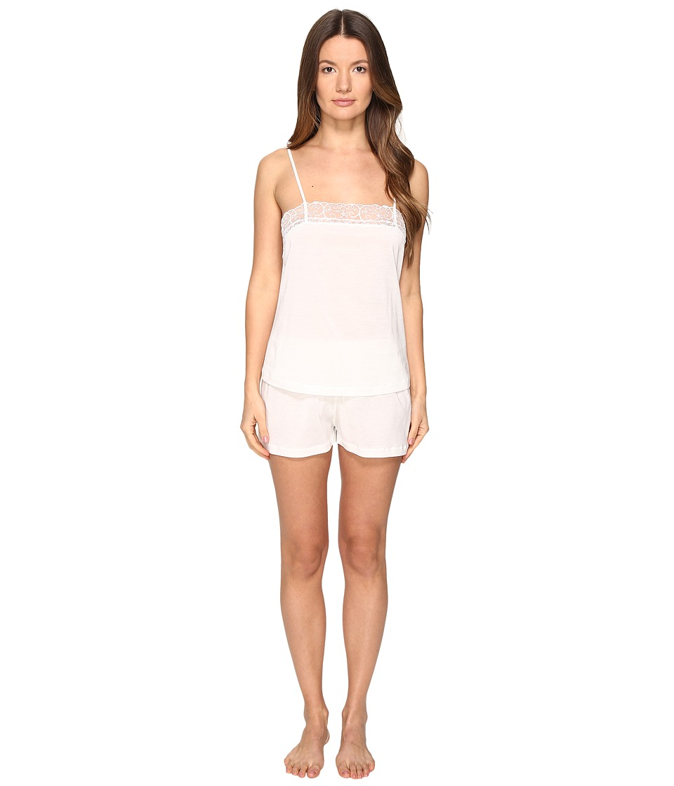 La Perla - Liaison Short Pajama (White) Women's Pajama Sets