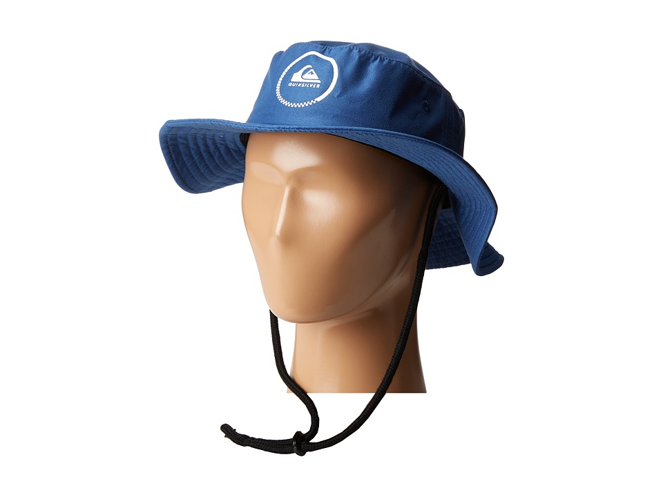 Quiksilver - Gelly 2 (Little Kids/Big Kids) (Vallarta Blue) Caps