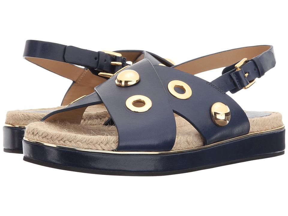 Michael Kors - Hallie (Maritime Vachetta/Jute) Women's Sandals