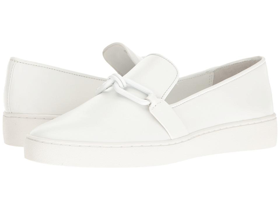 Michael Kors Lennox Slip-On (Optic White Vachetta) Women