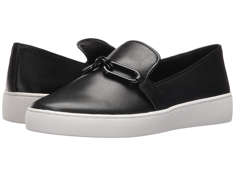 Michael Kors - Lennox Slip-On (Black Vachetta) Women's Shoes