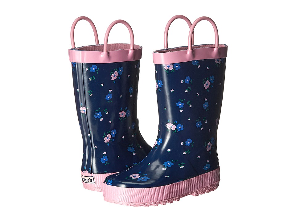 Carters - Bluebelr (Toddler/Little Kid) (Navy) Girls Shoes