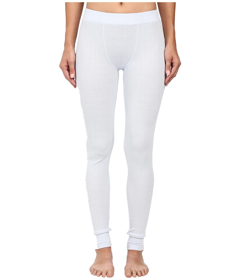 Yummie by Heather Thomson - Waffle Knit Long Johns (Artic Ice) Women's Casual Pants