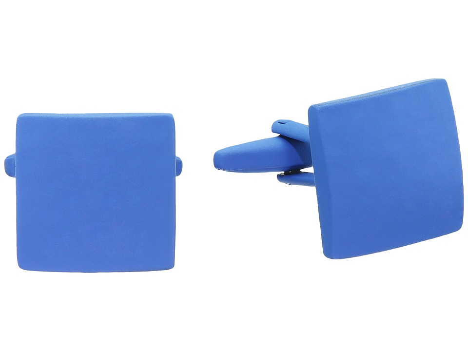 Stacy Adams - Powder Coated Cuff Link (Blue) Cuff Links