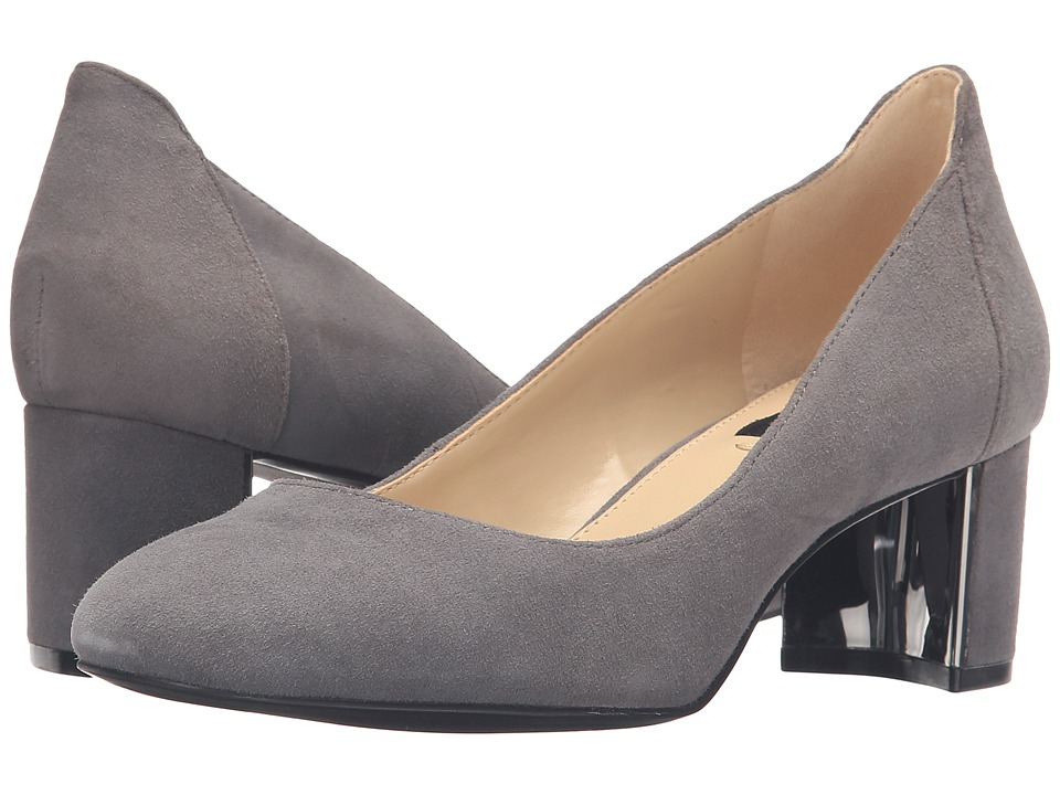 Jones New York - Patty (Grey Kid Suede) Women's Shoes