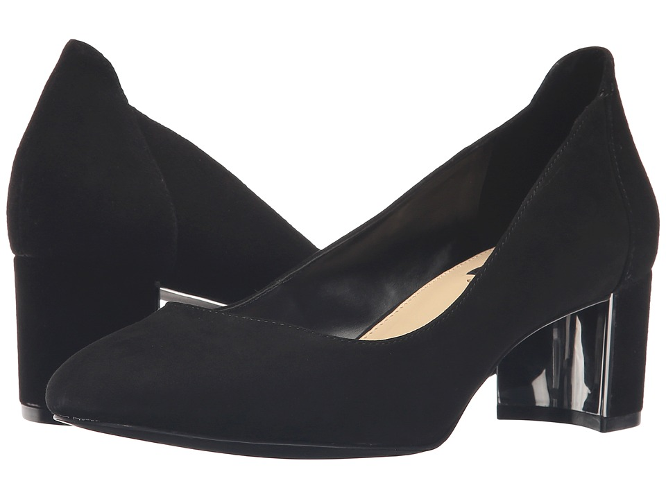 Jones New York - Patty (Black Kid Suede) Women's Shoes