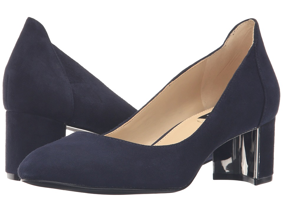 Jones New York - Patty (Navy Kid Suede) Women's Shoes