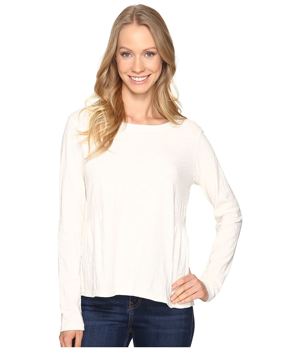 Sanctuary - Off-Duty Long Sleeve Tee (Winter White) Women's T Shirt
