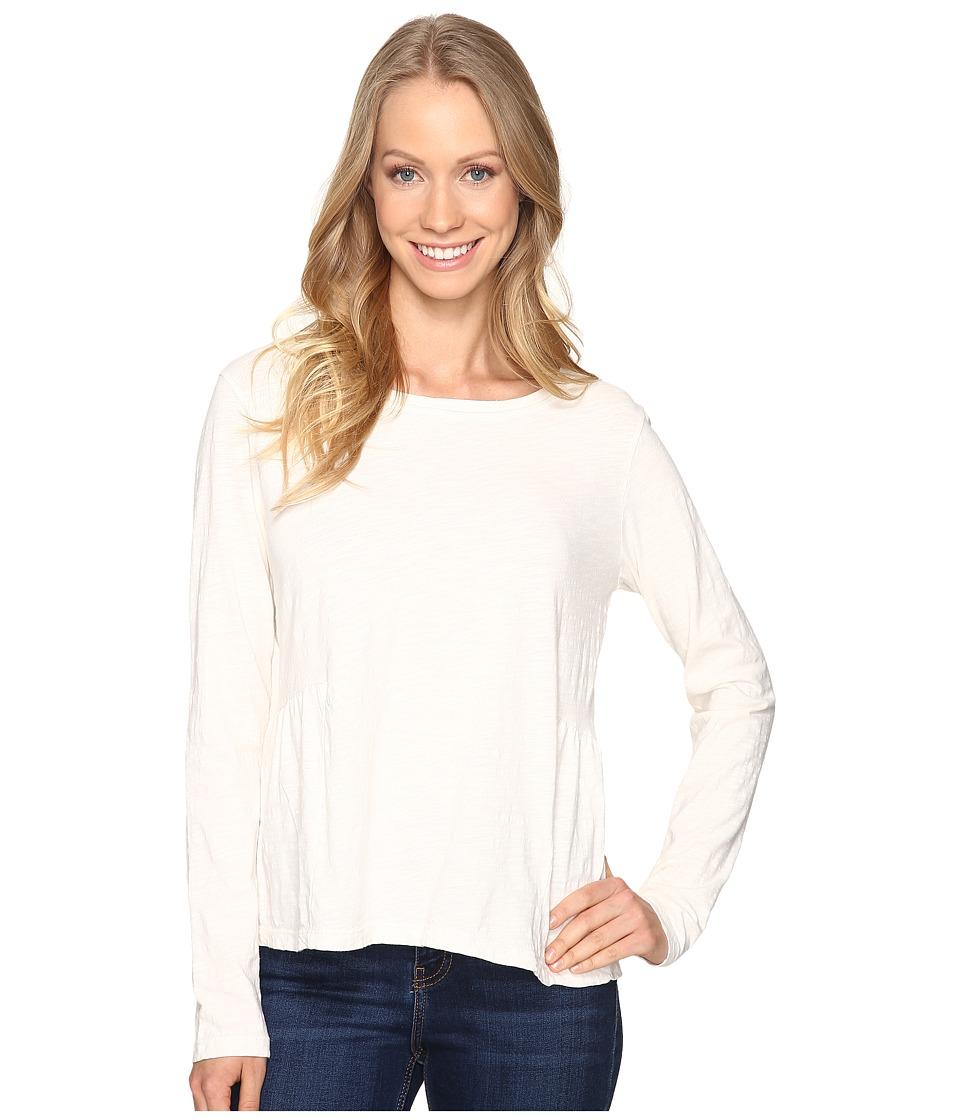 Sanctuary - Off-Duty Long Sleeve Tee (Winter White) Women's T Shirt